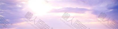 超治愈日系云朵背景图