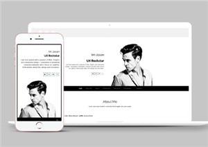 Resume自举式个人简历网站模板