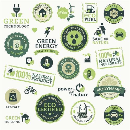 环保标识贴纸