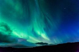 绝美极光摄影图