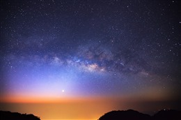 星辰大海梦幻背景图