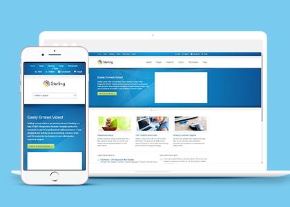 企业构建HTML5模板
