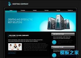 域名空间虚拟主机网站模板