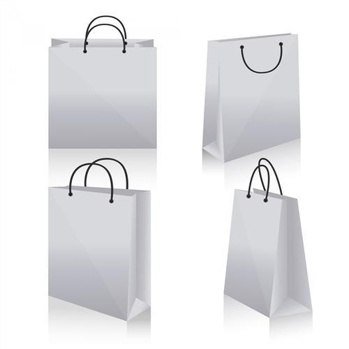 白色购物袋样机图