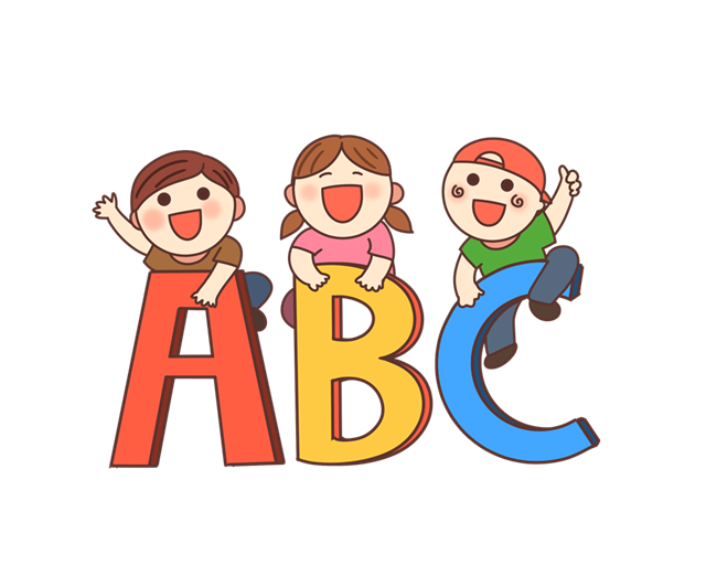 ABC字母插画