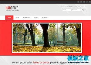 漂亮宽屏婚纱摄影公司html网站模板