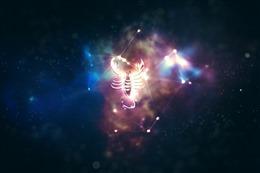天蝎座专属背景图