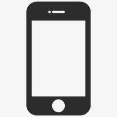 手机模型矢量图标元素