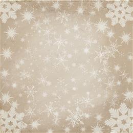 圣诞雪花质感背景