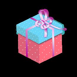 手绘平安夜礼物盒