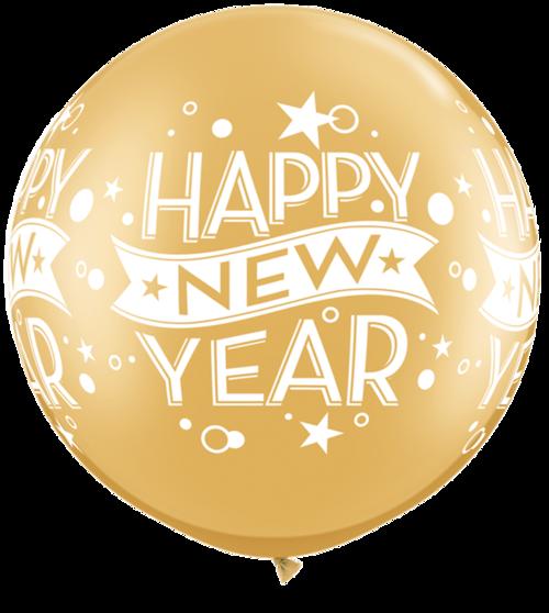 新年快乐装饰字体