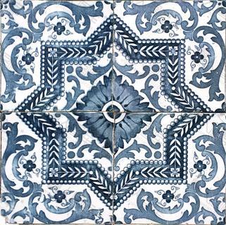 陶瓷图案花纹背景