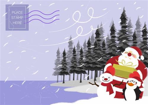 圣诞节电子贺卡封面