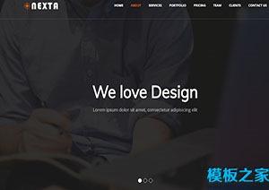 Nexta高端软件设计公司网站模板