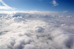 高空云层风景图