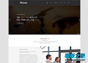 响应式商业服务公司bootstrap网站模板
