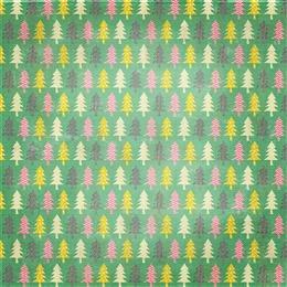 圣诞树包装背景