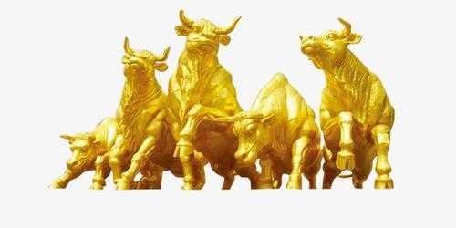 2021牛年金牛形象