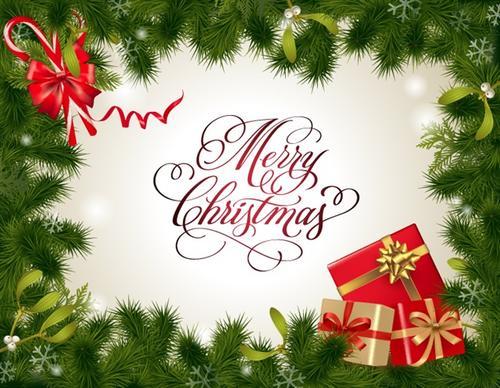圣诞节卡片图案