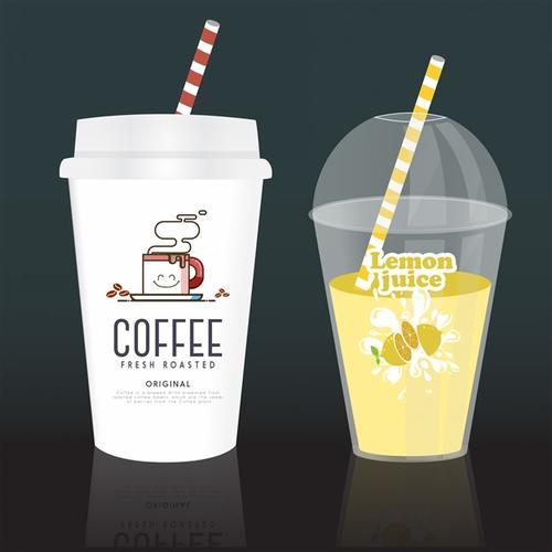 咖啡杯包装设计