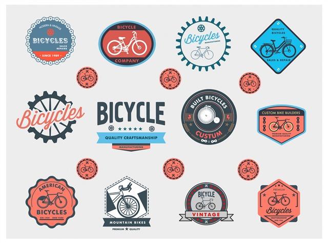 自行车标签