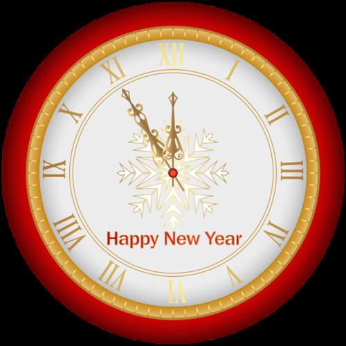 新年跨年时钟