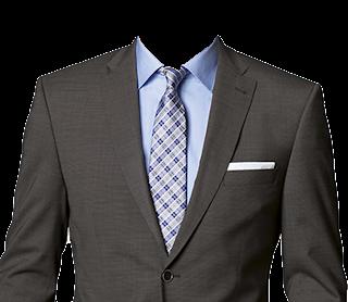 商务男士证件照衣服模板
