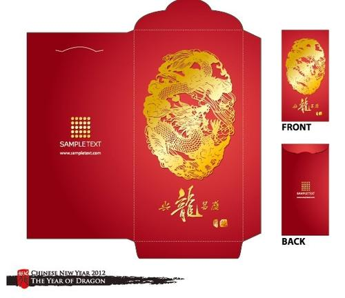 红包设计图案模板