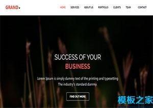 多用途商务咨询web网站模板