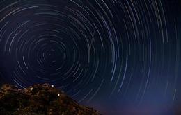 星星轨迹图片