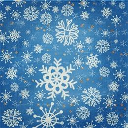 圣诞雪花图案背景
