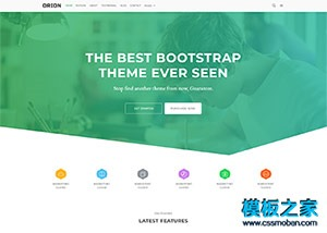 互联网开发公司html网站模板