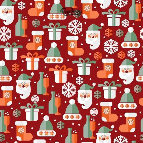圣诞可爱图案卡通插画图片