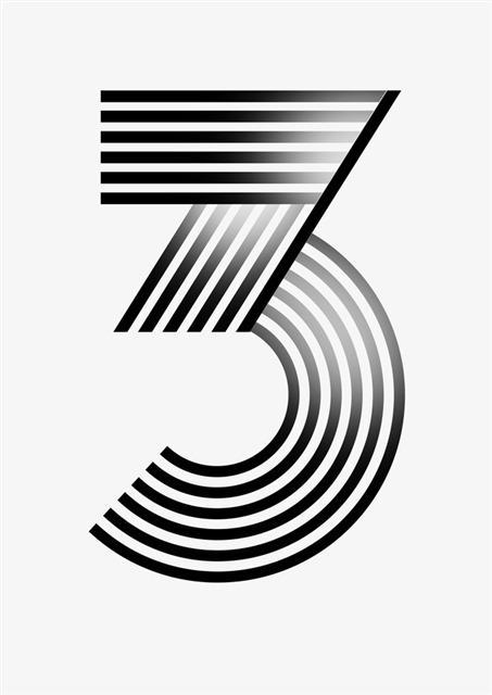创意数字3
