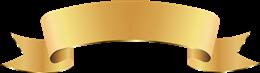 金色彩带标题标签