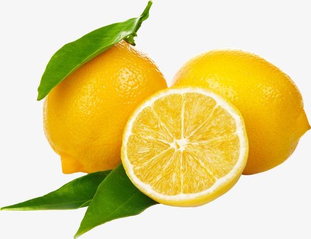 新鲜水果柠檬元素