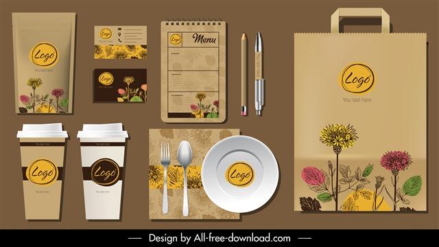 主题咖啡馆VI设计