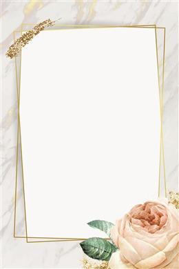 清新欧式手绘花卉背景