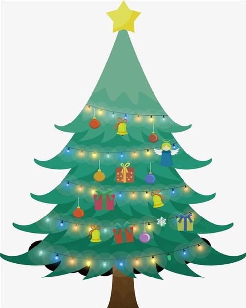 圣诞树插画