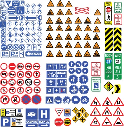 交通道路标志