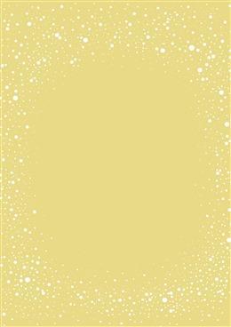 黄色纯色斑点背景图片