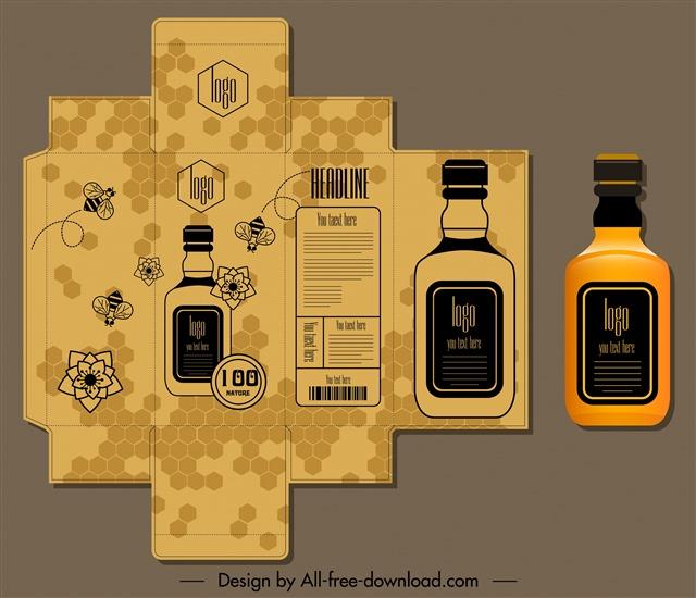 威士忌酒瓶包装
