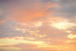 落日晚霞风景图片