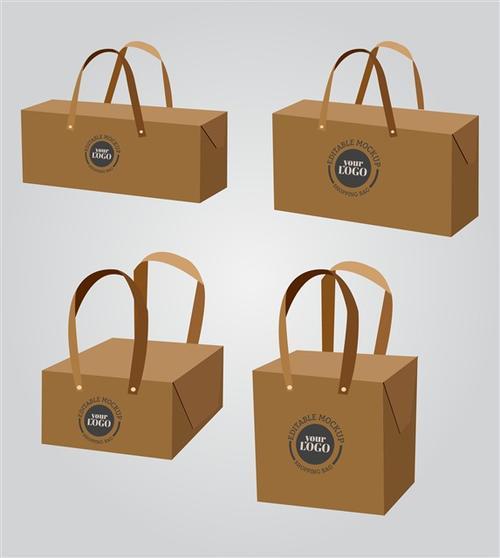 方形购物袋样机