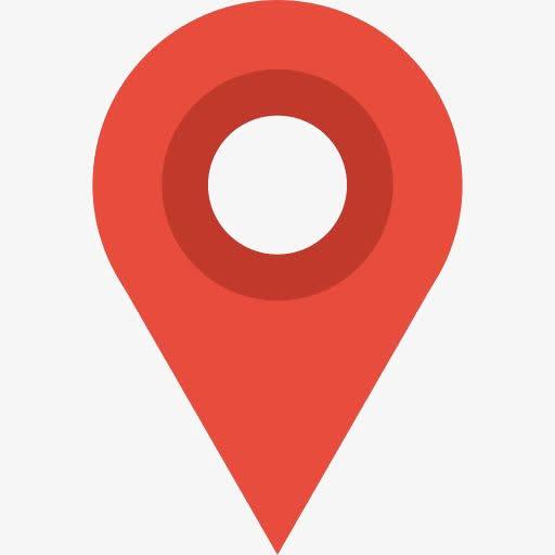 红色位置定位图标