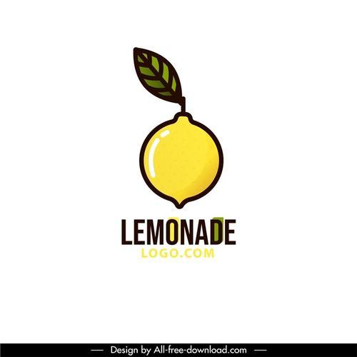 柠檬茶饮品logo