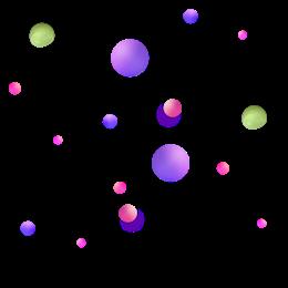 球体电商漂浮元素