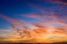 唯美天空风景图片