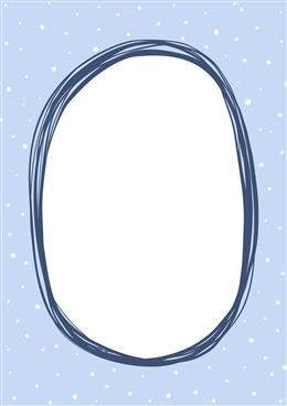手绘圆圈纯色背景图片