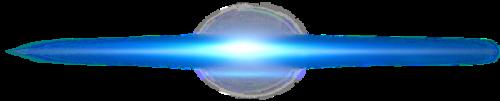 蓝色光线效果元素